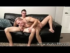 soft gay sex movietures Rob comes first, busting a ball sack