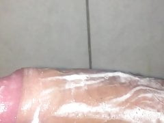 Shower lotion cock