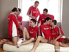 Goal orgy - Club I. from Hammerboys TV
