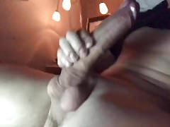 Jerking off my MONSTER COCK for a HUGE LOAD