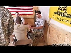Horny military males with gay first time Yes Drill Sergeant!