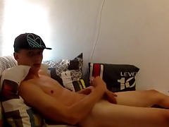 So Nice Twink Boy Wank and Cum on Cam