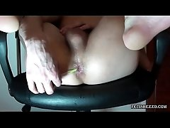 Ton Plays with Anal Balls and go ass-to-mouth