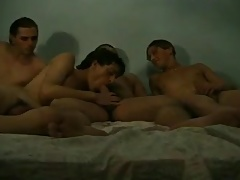 Amateur Boys in Bed