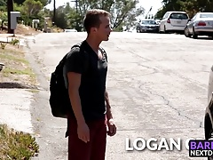 Logan Cross drills his bottom lover Connor Halsted