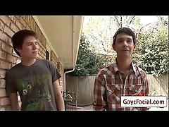 Bukkake Boys - Gay Hardcore Sex from wwwGayzFacial.com 16