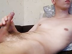 Horny european guy masturbating on cam 2