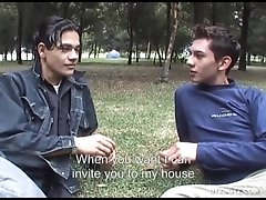 Hung Latin Twinks Angel and Cesar Fucking