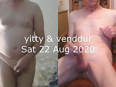 Yitty and Venddur on Skype 1