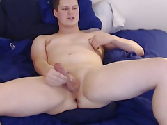 Shiny James - Rare webcam cutie ass twerk cum