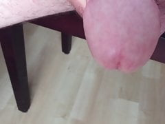 Throbbing cock slap